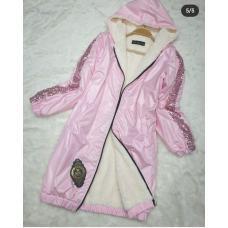 куртка с искуственным мехом