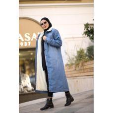 Джинсовое пальто